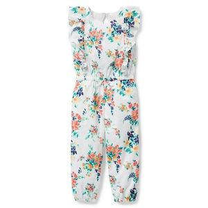 NWT Janie and Jack Floral Jumpsuit
